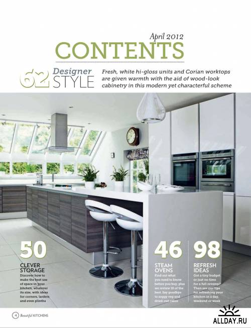 25 Beautiful Kitchens №4 (апрель 2012) / UK