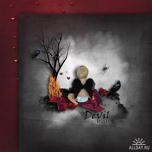 Скрап-набор - Angel & Devil