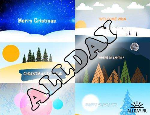 Merry Christmas After Effects Pack 2