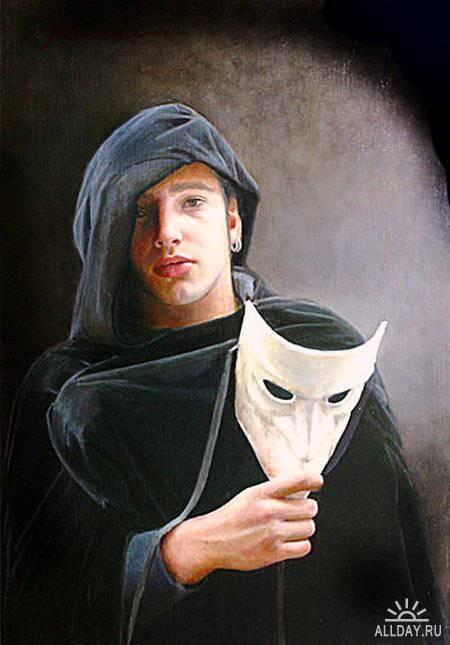 Венецианские маски в живописи