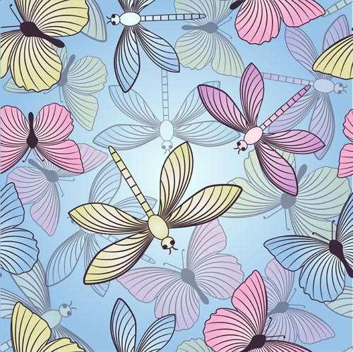 Прекрасные бабочки #11 - Векторный клипарт