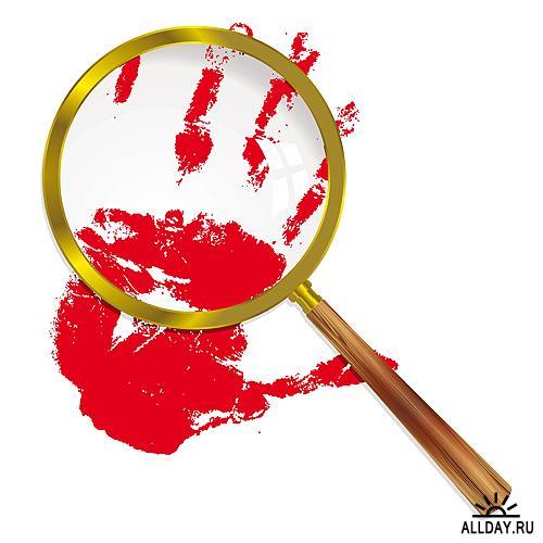 Stock Vectors - Magnifying glass | Увеличительное Стекло
