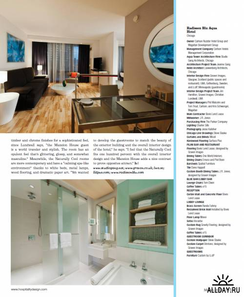 Hospitality Design - March 2012
