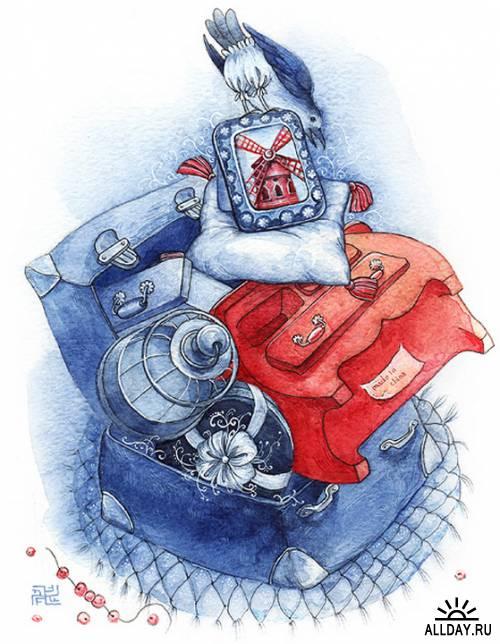 Художница-иллюстратор Марина Михайлошина