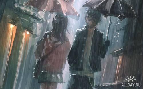 40 Wonderful Anime HD Wallpapers (Set 20)