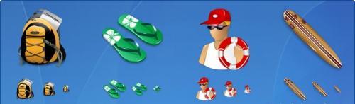 Иконки различных предметов (224 иконки)