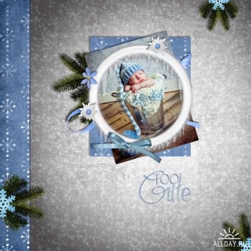 Скрап-набор Magic Holidays