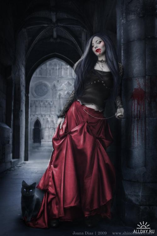 Joana Dias( shinobinaku) - иллюстратор из Португалии