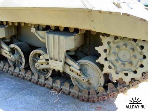 Американская САУ M10 Wolverine
