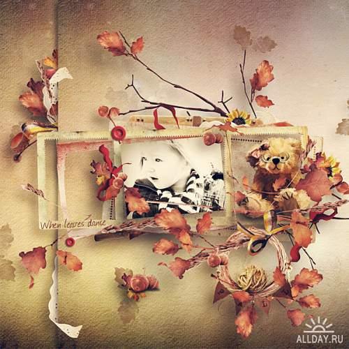Скрап-набор When The Leaves Dance