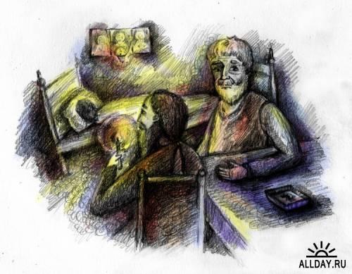 Иллюстрации Бондарева Анна