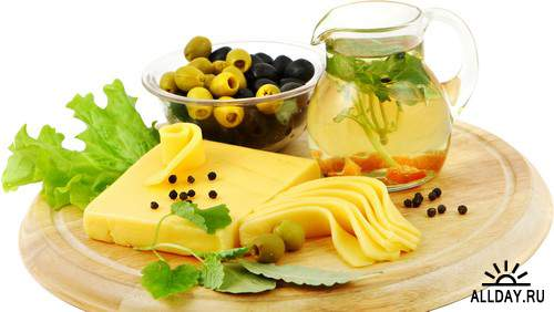 Cheese, olives and olive oil | Сыр, оливки и оливковое масло