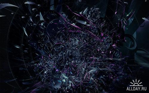 Dark widescreen wallpapers - обои на рабочий стол
