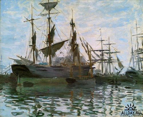 Парусники от Claude Monet