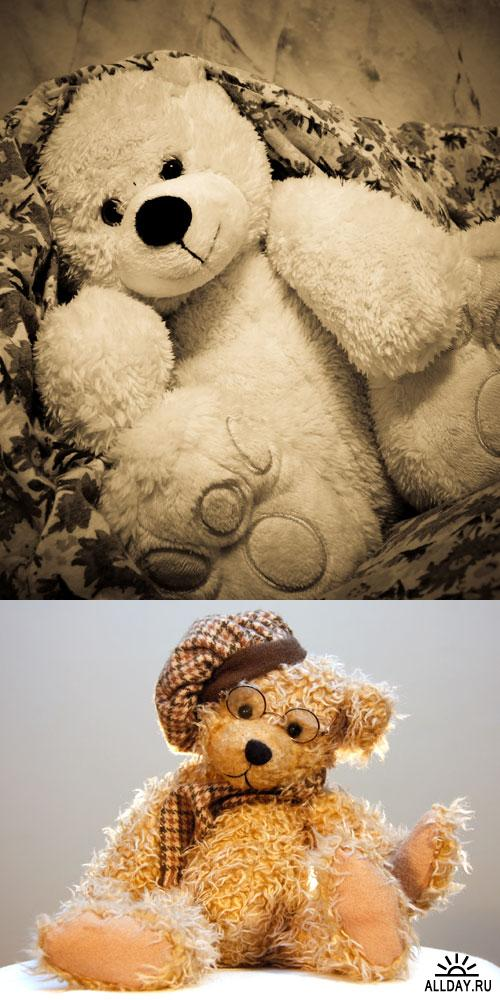 Фотоклипарт - Мягкие игрушки