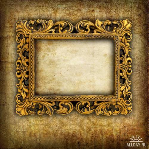 ретро-рамки для фото