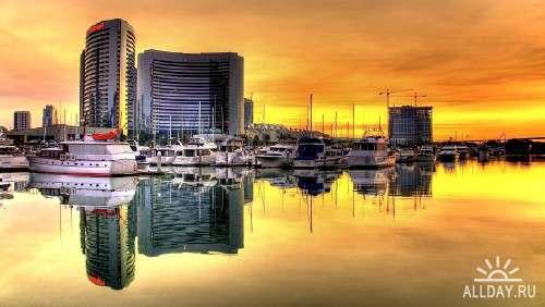 Фото архитектуры крупных городов мира на фон рабочего стола 77