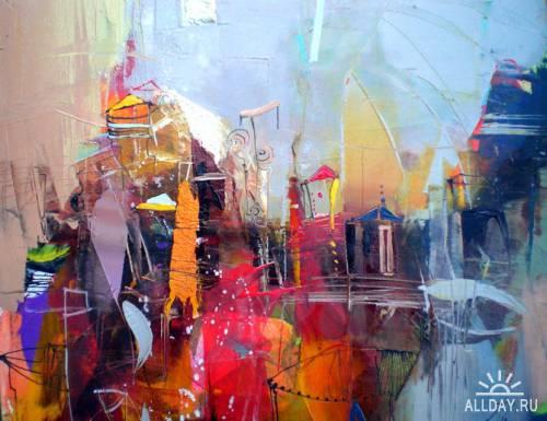 Работы болгарского художника Lyubomir Kolarov.