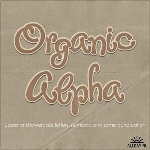 Скрап-набор - Organic