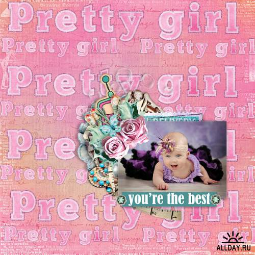Scrap kit Pretty Girl