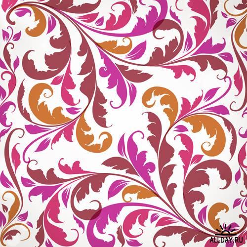 Цветочный орнамент в векторе | Floral ornament - Stock Vectors