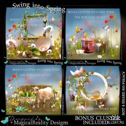 Скрап-набор Swing into Spring