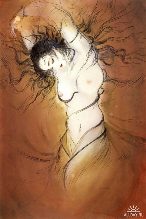 Ёситака Амано - синтез символизма и фэнтези