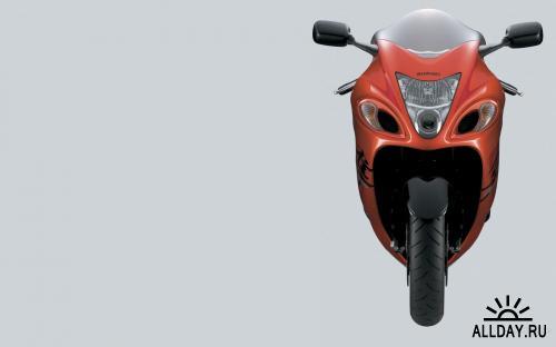 35 Super Fast Suzuki Hayabusa Bikes HD Wallpapers