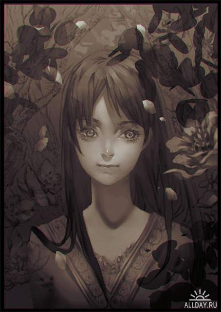 Работы художника - Roro Zhu (rororei)