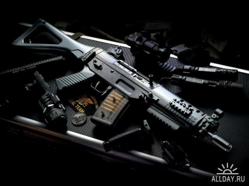 Обои с оружием