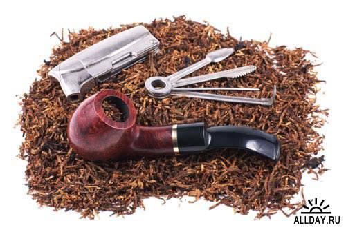 Pipe and tobacco. Set.5 - Stock Photo | Курительная трубка и табак. Вып.5