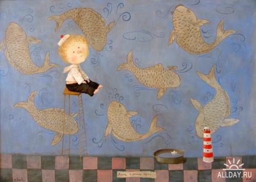 Украинская художница Евгения Гапчинская