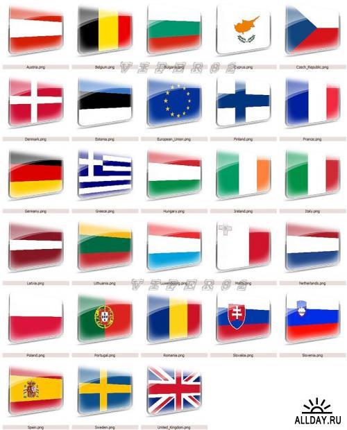 Флаги членов Евросоюза