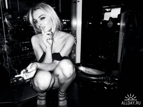Lindsay Lohan by Terry Richardson for Purple Magazine