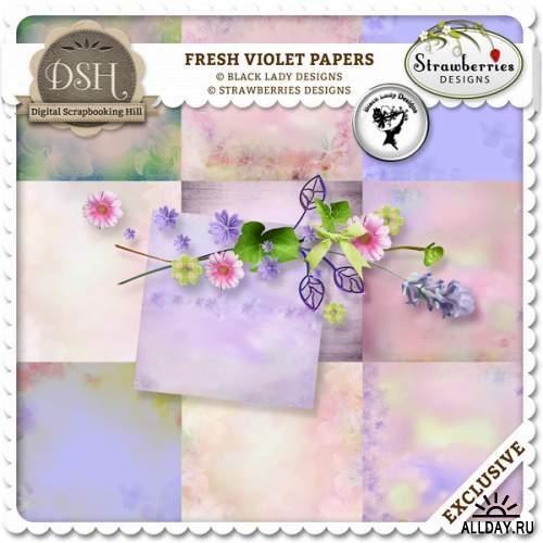 Скрап-набор Fresh Violet