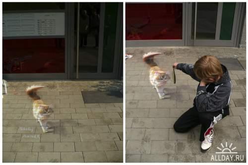 Работы уличного художника - Николай Арндт (Nikolaj Arndt)