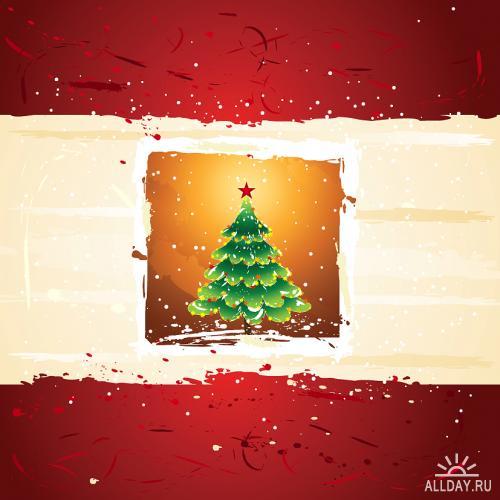 Stock Vectors - Christmas Mix 2   Новогодний Микс 2