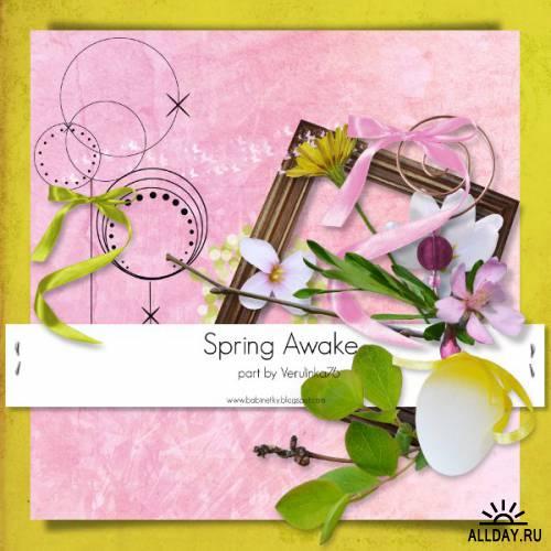 Скрап-набор - Spring awake - Часть 6 (заключительная)