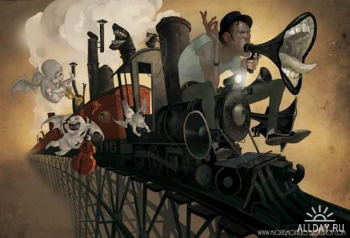 Иллюстратор Miquel Montllo