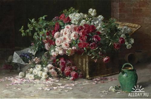 Американский художник Abbott Fuller Graves (1859 - 1936)