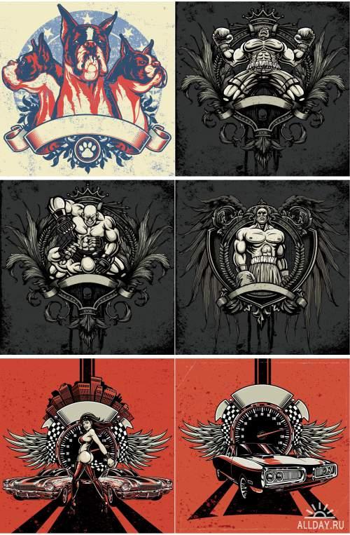 Дизайн футболок / T-Shirt Design 18