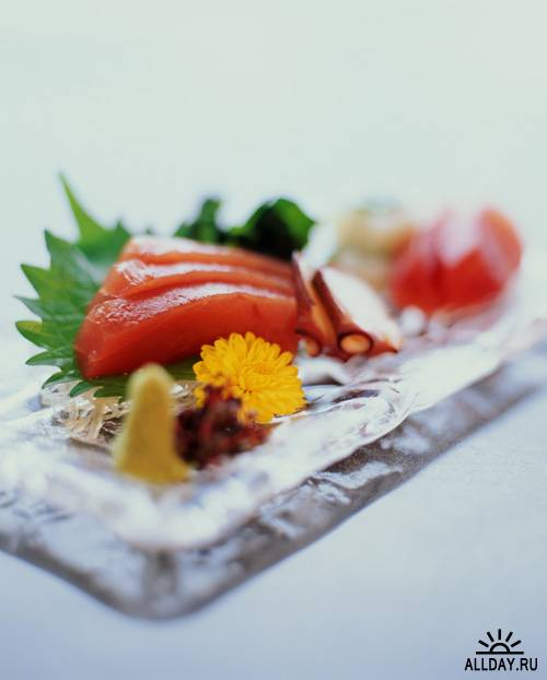 Stock Photo: Food on the plate