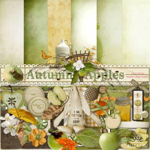 Scrap kit   Autumn  Apples