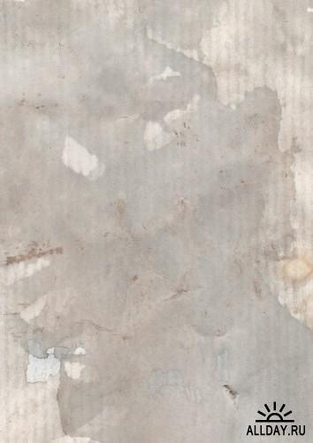 5 Гранжевых бумажных текстур