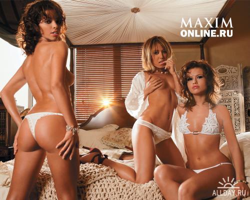 Обои с девушками из журнала MAXIM