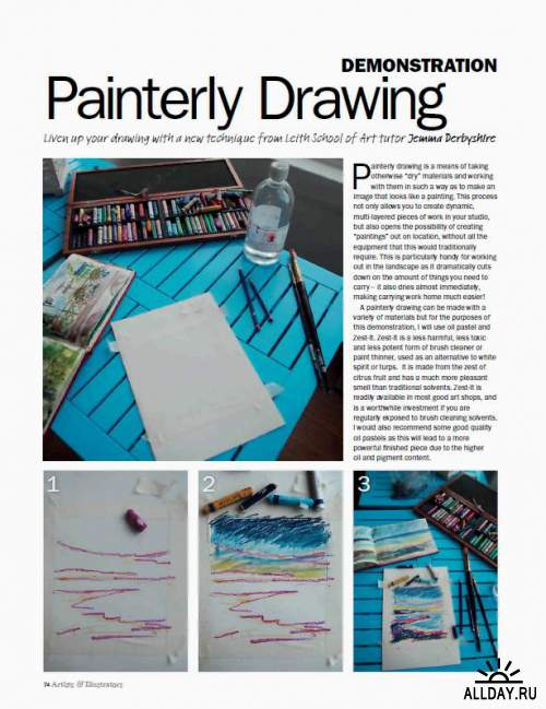 Artists & Illustrators - April 2013