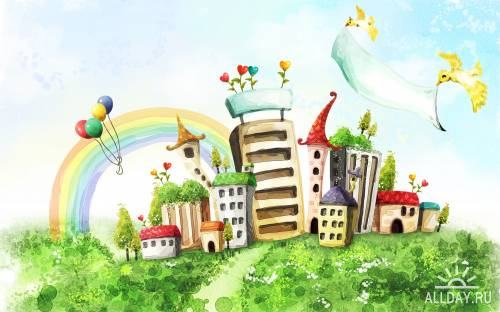 80 Beautiful Fantasy Worlds Wallpapers