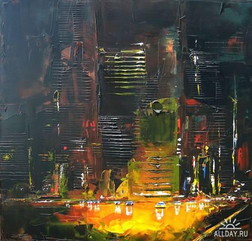 Daniel Castan и его городские пейзажи