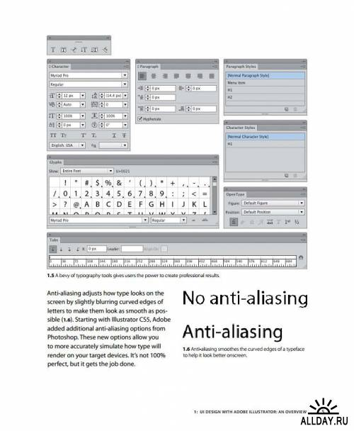 UI Design with Adobe Illustrator /2012/