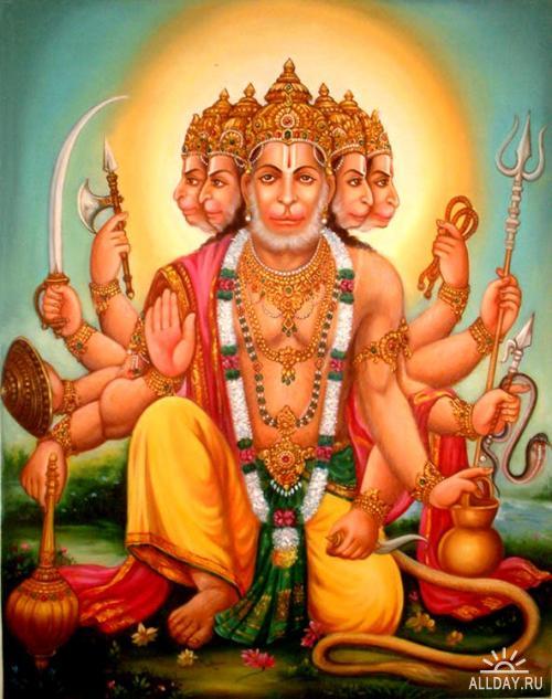 Живопись Индии. Giri Raj Sharma